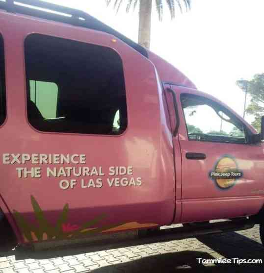 Pink Jeep Tour Truck
