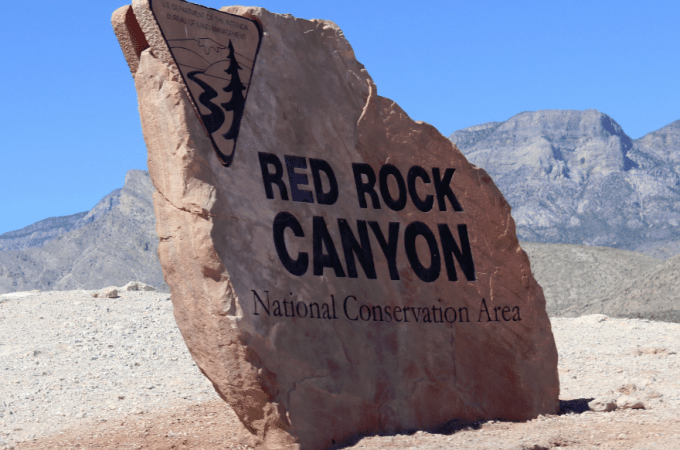 A visit to Red Rock Canyon outside of Las Vegas