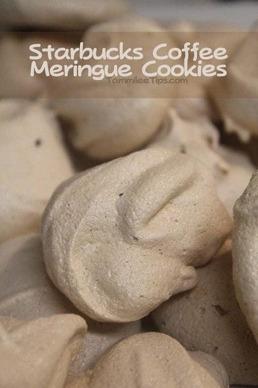 Starbucks Coffee Meringue Cookie Recipe