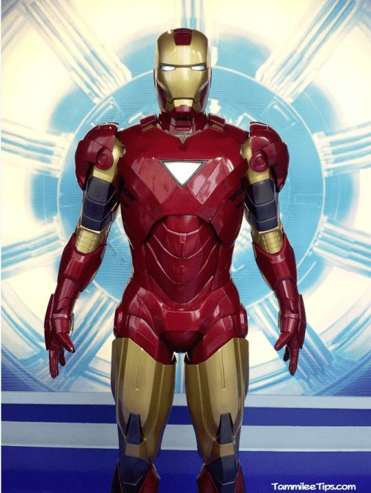 Iron Man at Madame Tussards 2