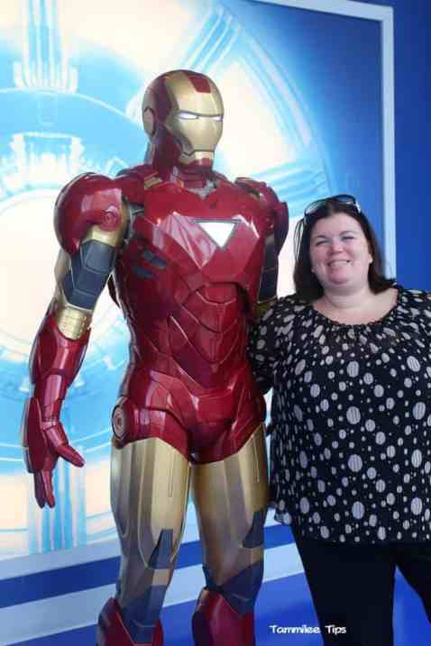 Iron Man at Madame Tussards Tammilee Tips