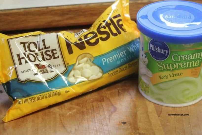 Key Lime Fudge Ingredients