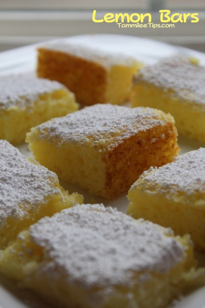 Lemon Bars Tammilee Tips