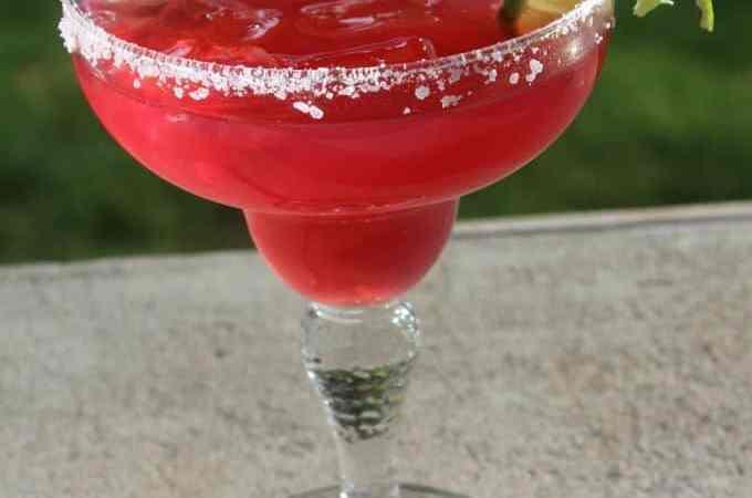 Copy Cat Chevy's Sunburn Margarita Recipe