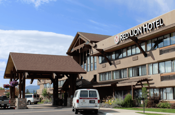 Our great stay at the Red Lion Hotel Kalispel Montana