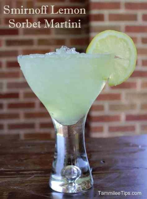 Smirnoff Light Lemon Sorbet Martini