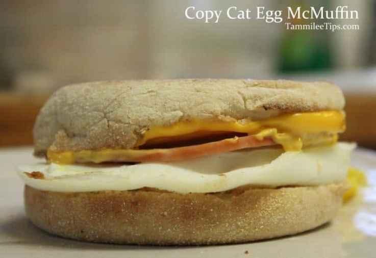Copy Cat Egg McMuffin