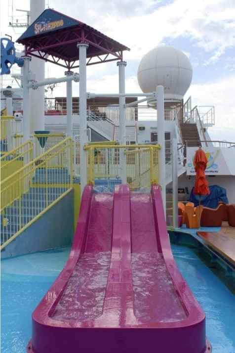 Carnival Breeze Pool Waterworks SplashZone