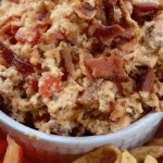 Crock Pot Bacon Cheeseburger Dip