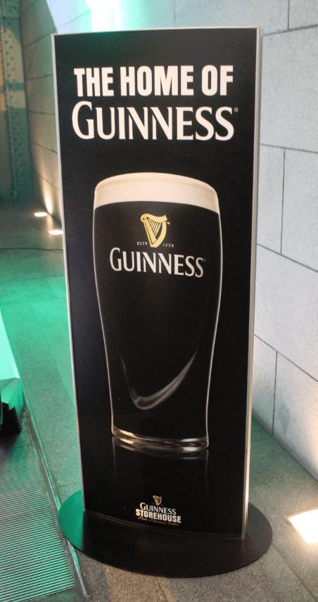 Guiness Storehouse Dublin