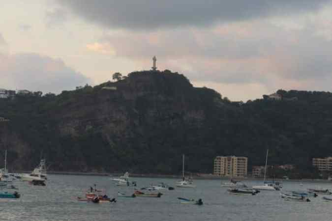 San Juan Del Sur Nicaragua Port Area