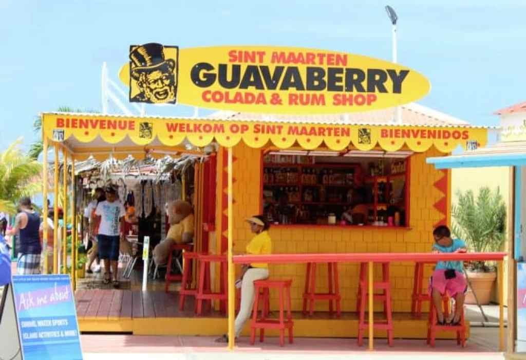 St Maarten Guavaberry Shop