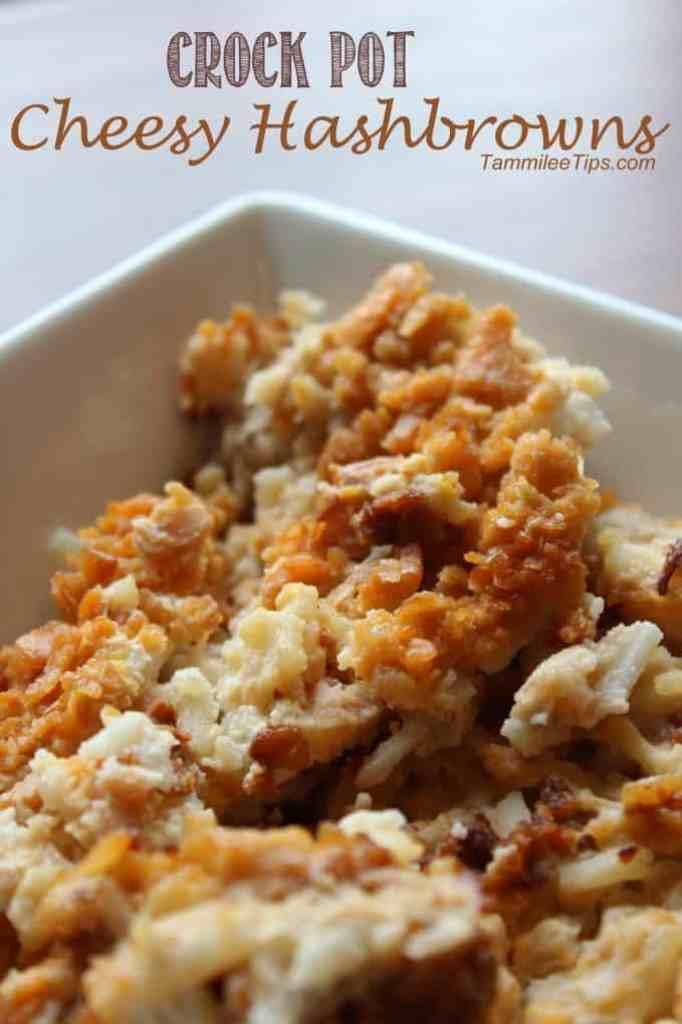 Crock Pot Cheesy Hashbrowns
