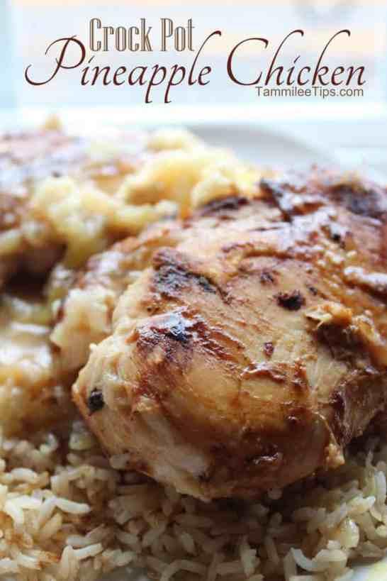 Crock Pot Pineapple Chicken