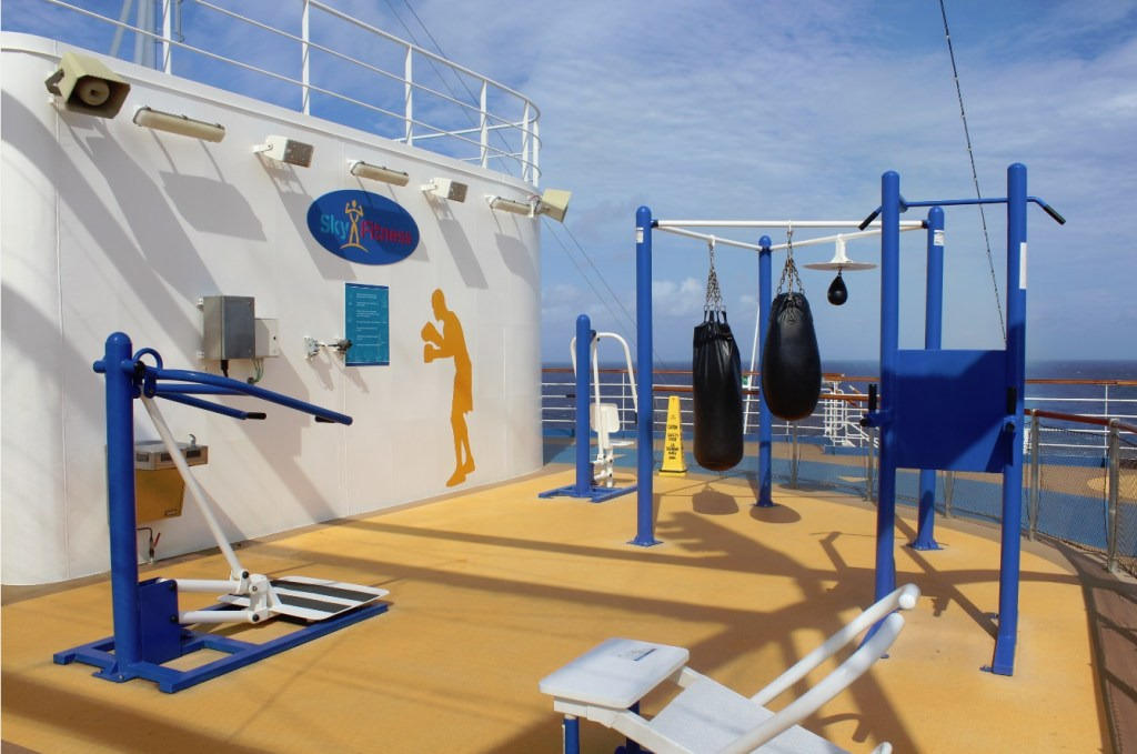 Carnival Breeze Sports Sky Fitness