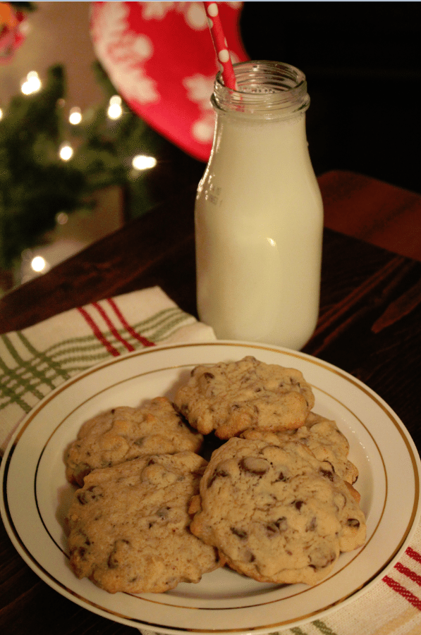 Chocolate Chip Coconut Rum Cookies