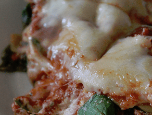 Crock Pot Lasagna with Barilla Pasta and Sauce