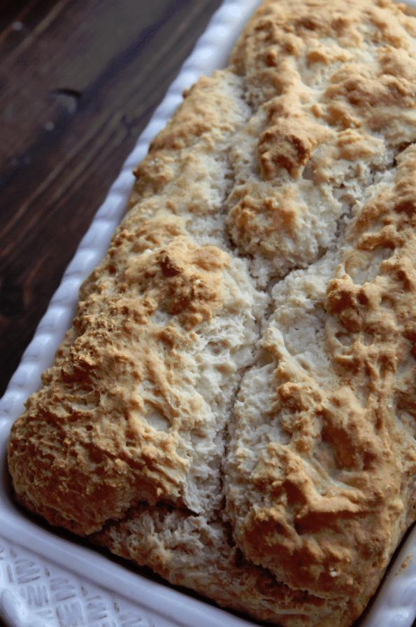 3 Ingredient Beer Bread Recipe - Tammilee Tips