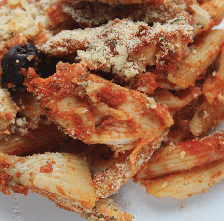Easy Chicken Penne Pasta Bake Recipe
