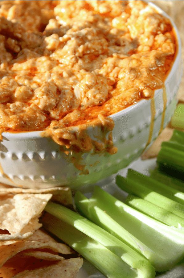 Crock Pot Buffalo Ranch Chicken Dip recipe