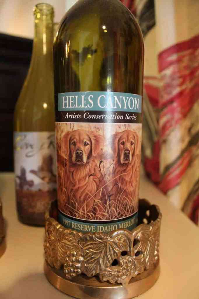 Hells Canyon Wine Label