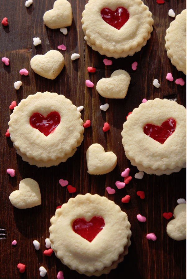 Red Heart Valentine's Day Cookies