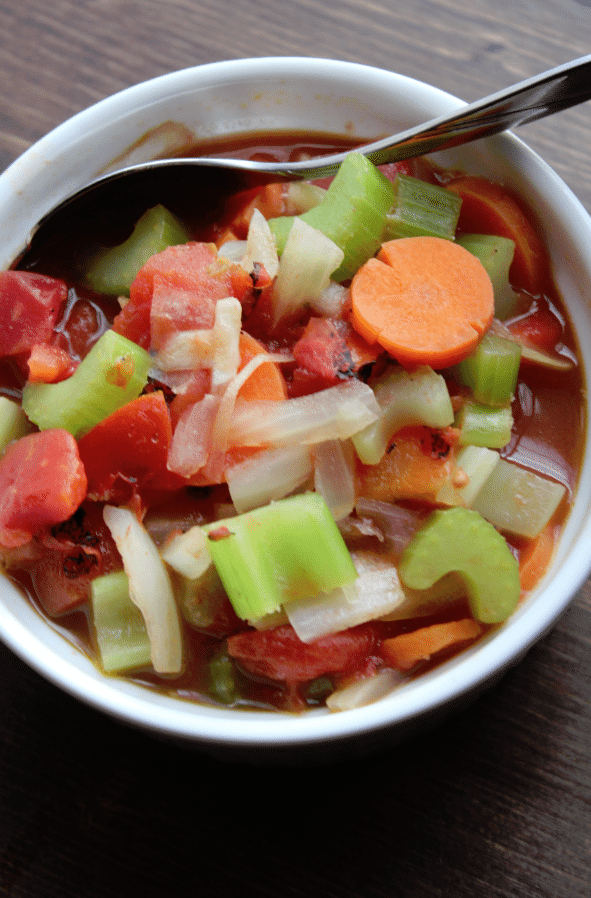 Weight Watchers Simple Vegetable Soup Recipe