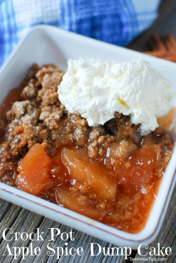 Apple Spice Cake Crock Pot Recipe