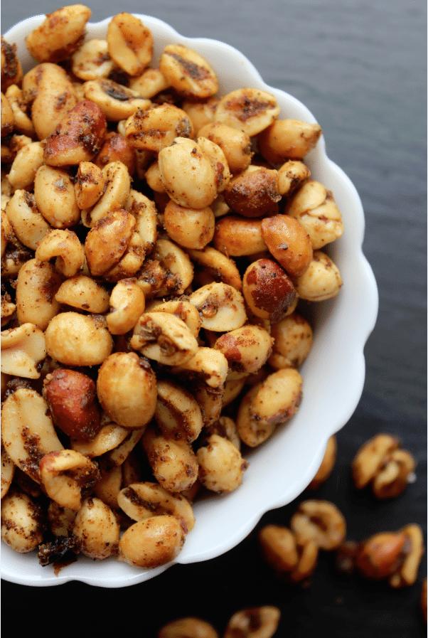 Crockpot Spicy Peanuts Recipe Tammilee Tips
