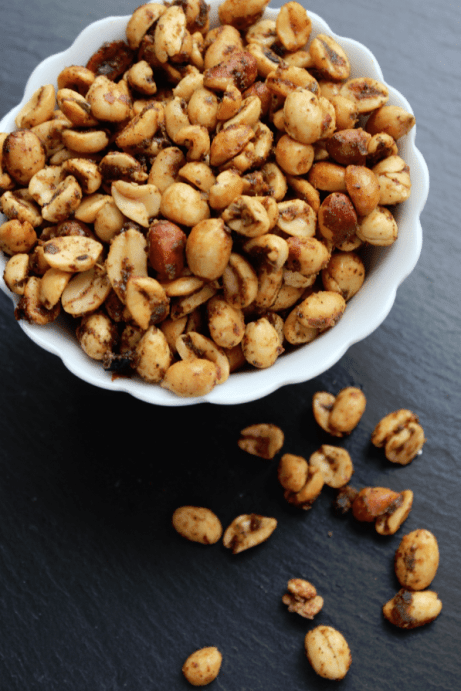 Crockpot Spicy Peanuts Recipe