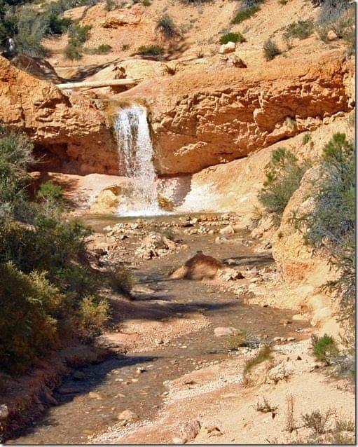 Waterfall Bryce Canyon