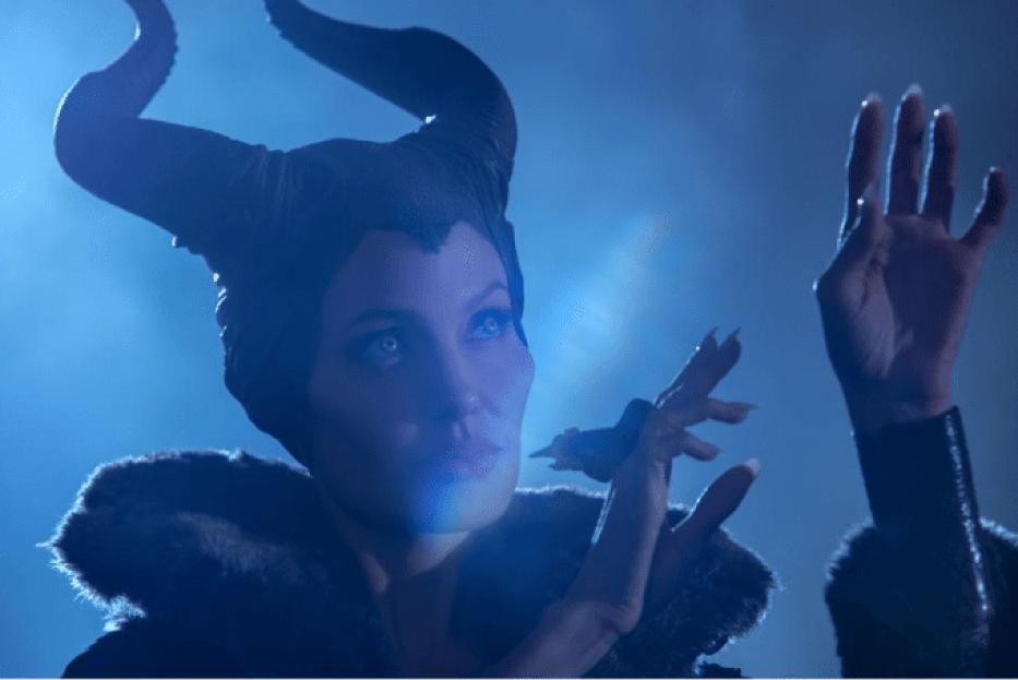 Maleficent Angelina Jolie Shadows