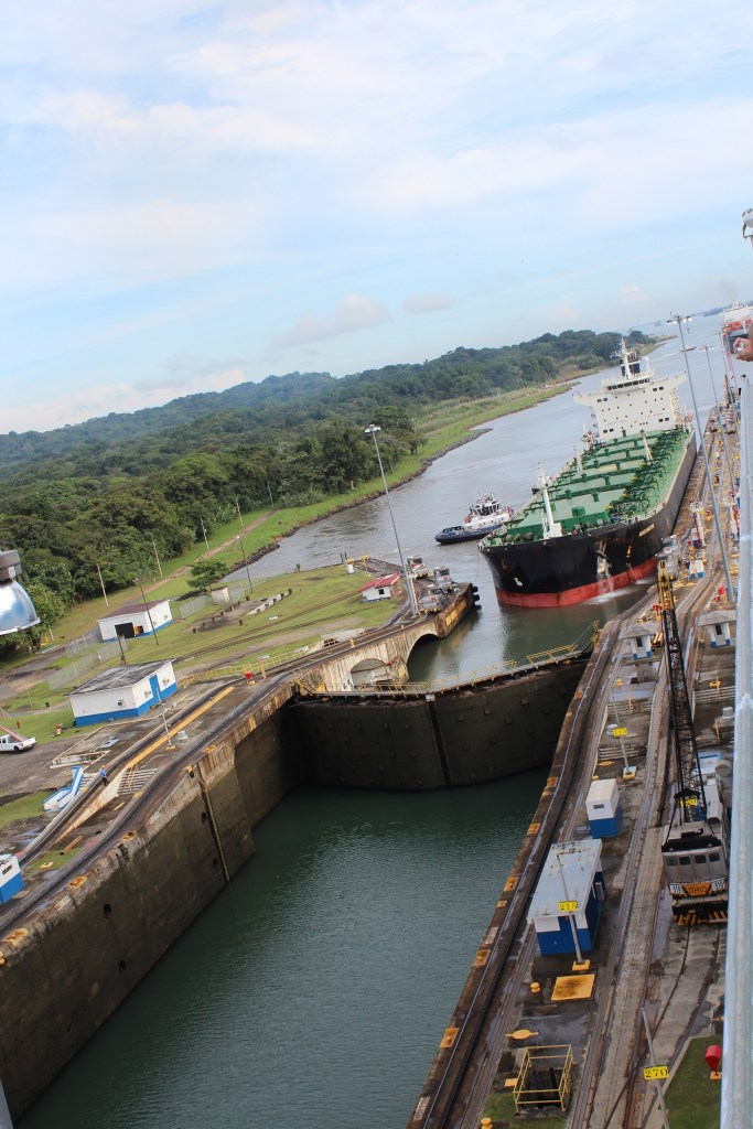 Panama Canal Crossing