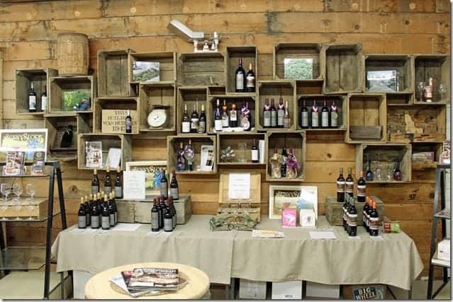 inside Fujishin Winery