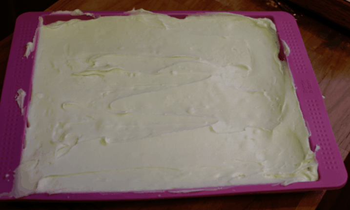 White Chocolate CHips and icing Combined