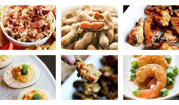 50+ finger food appetizer recipes
