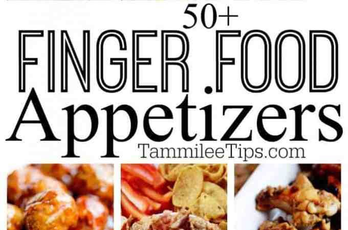 50+ Easy appetizers finger food
