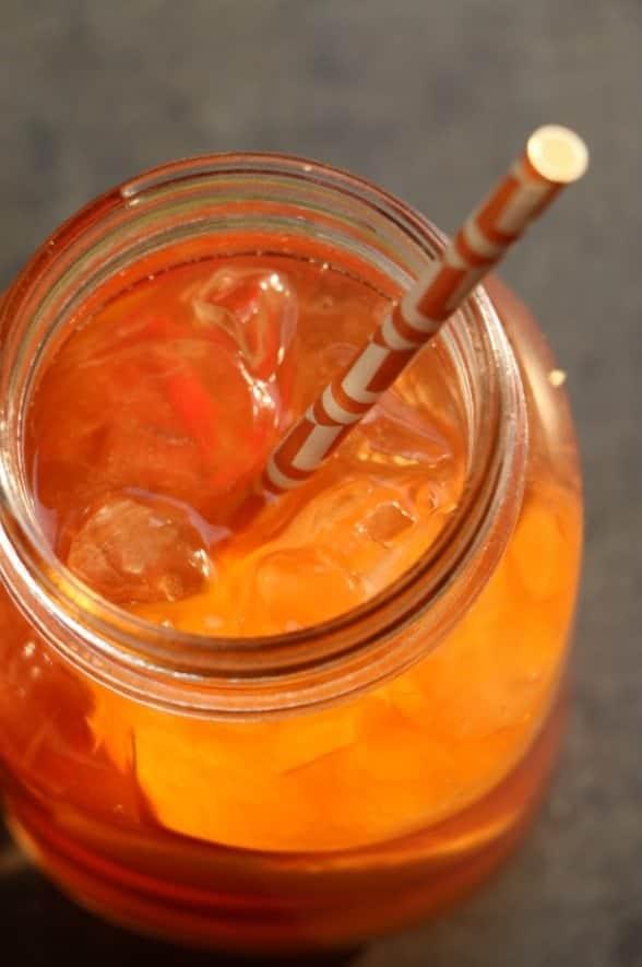 Peach Iced Tea Cocktail Recipe Tammilee TIps