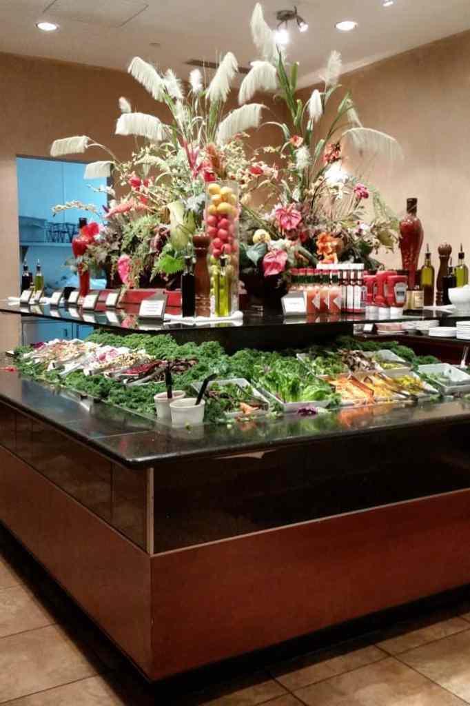 buffet at Pampas Las Vegas
