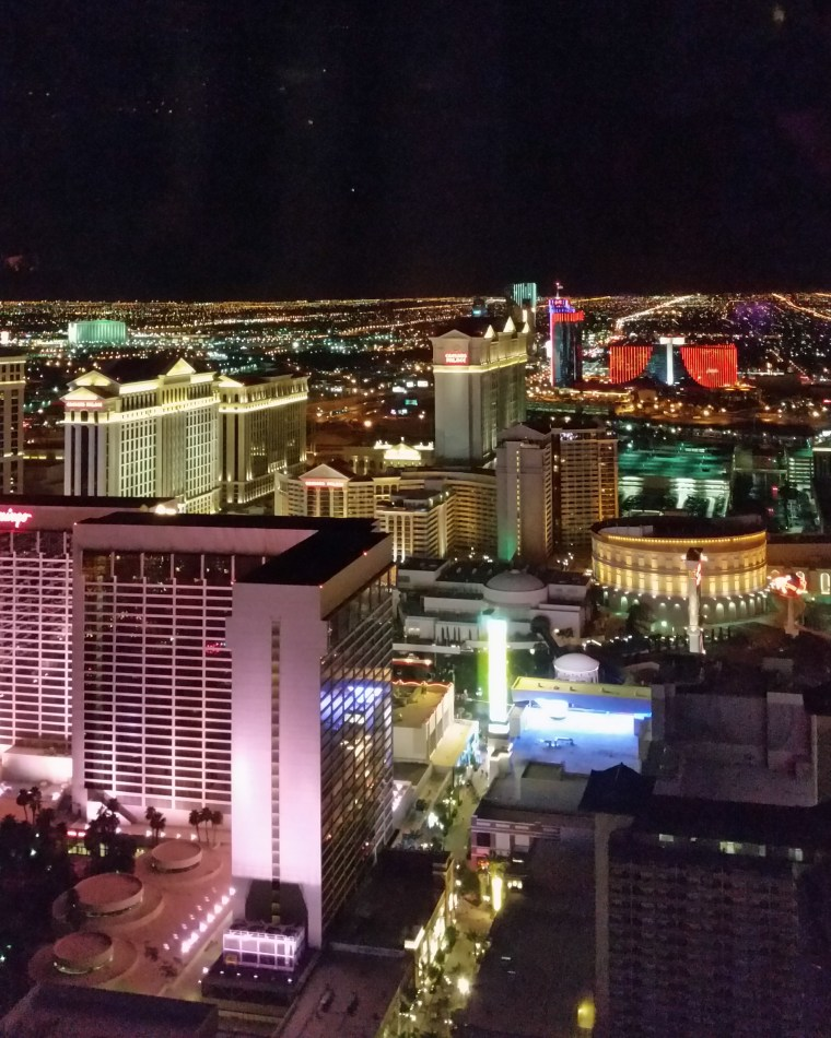 view from High Roller Las Vegas