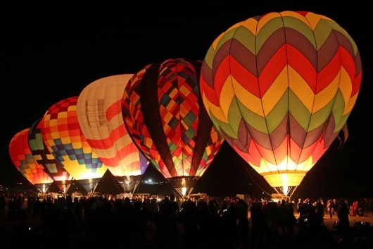 Reno Hot Air Balloon Glow Show and Dawn Patrol