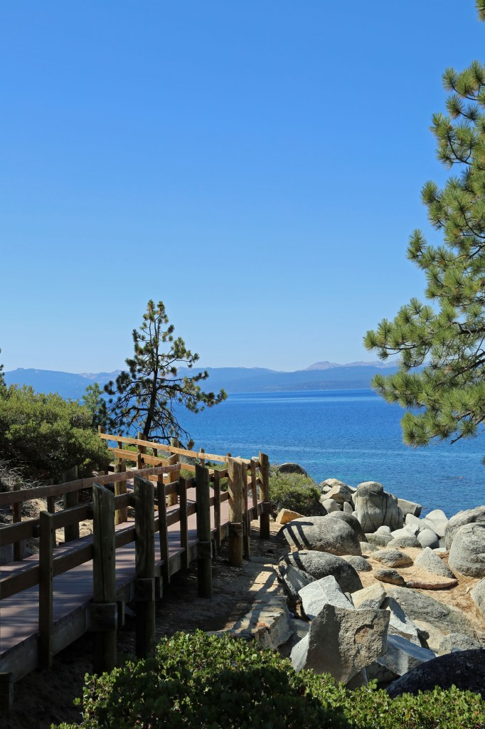 Hiking Trail Lake Tahoe Sand Harbor State Park