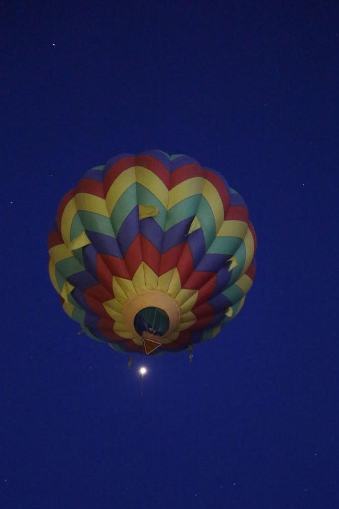 early riser at 2014 Reno Hot Air Baloon Race