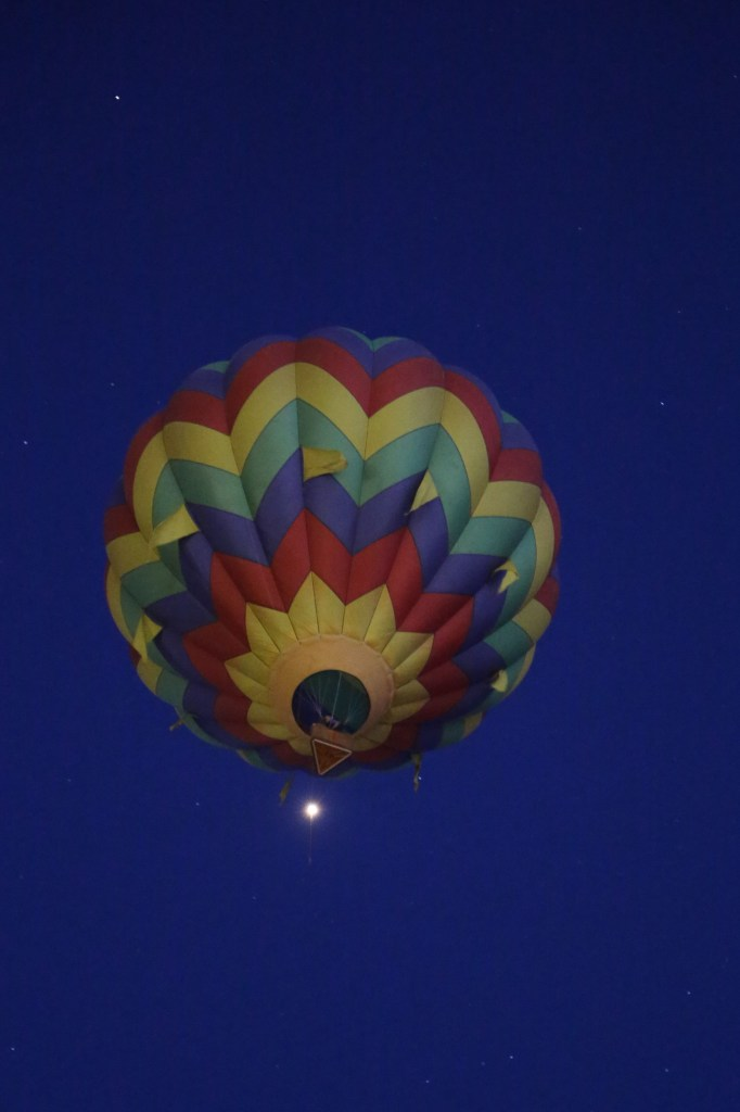 early riser at 2014 Reno Hot Air Baloon Race