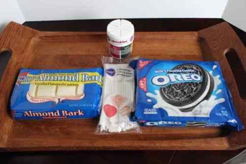 Holiday Oreo Treats Ingredients