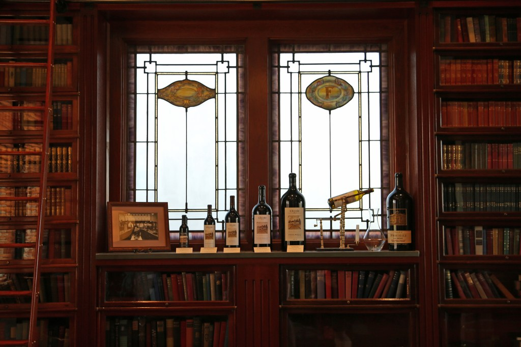 Library at L`Ecole No 41 Winery