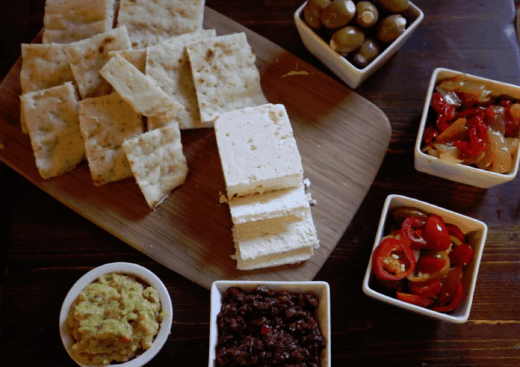 Super easy greek appetizer platter