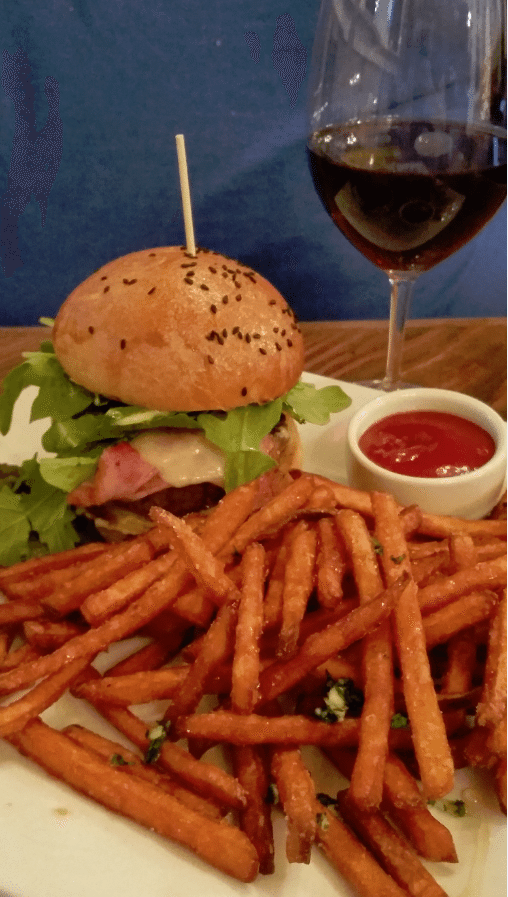 cork house burger
