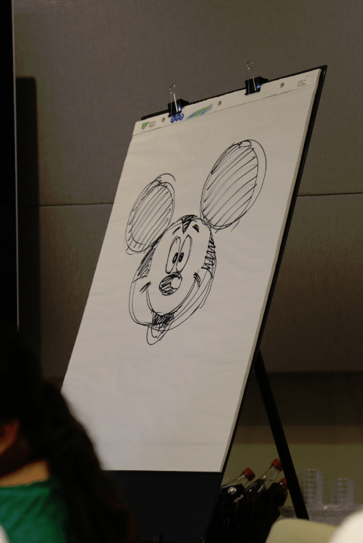 Floyd Norman Mickey Mouse Sketch