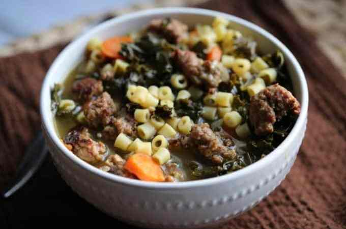Crock Pot Italian Sausage Wedding Soup Recipe